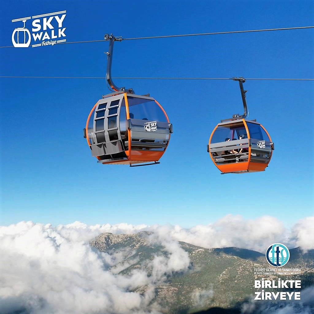 SKYWALK FETHİYE CABLE CAR PROJECT IS FINALLY HERE